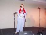 Angela w/K'Elvis scarf