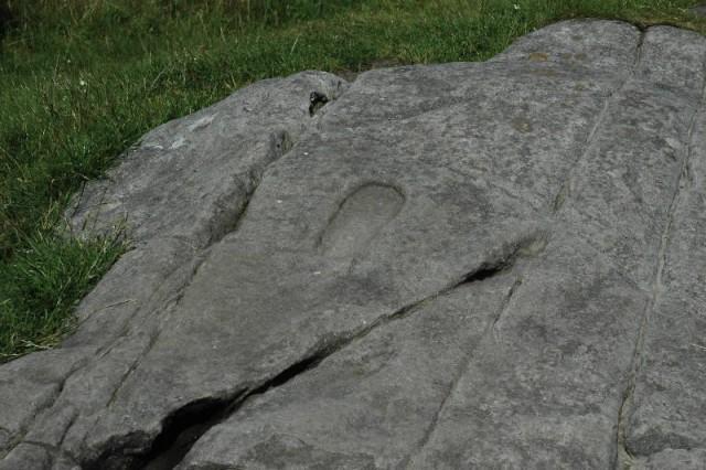 aaaa0058.jpg Foot shaped cup mark at ancient Fort Dunadd